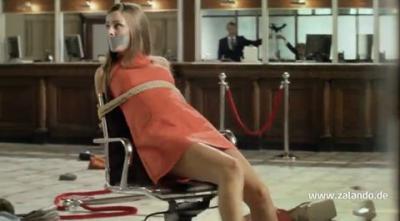 Advertsising: Zalando hostage- advertising contrary to good taste or decency?