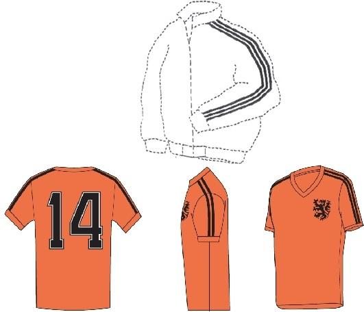 Adidas blocks Cruyff shirt