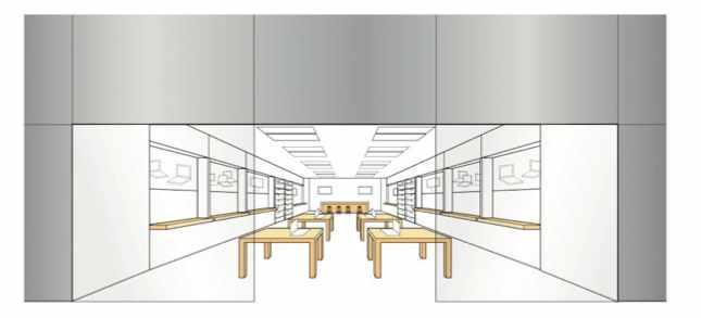 Apple Flagstore: winkelinrichting als merk