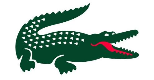 Logo stops word: EAU CROCO - Lacoste