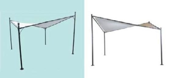 The world upside down - Blokker tent design infringement Zhengte tent