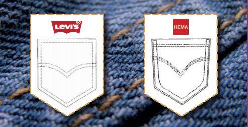 HEMA fined €4.5 million - trademark infringement Levi