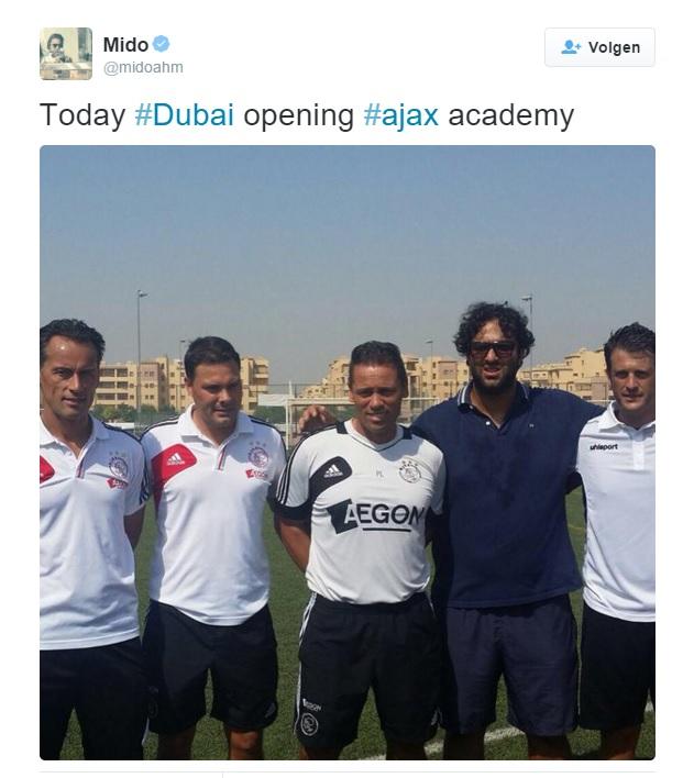 Ajax Academy voetbalschool in Dubai - waar merkrechten claimen