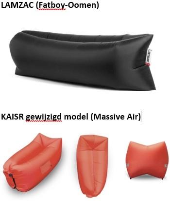 LAMZAC- KAISR  het gevecht om The Original lucht ligzak en de grenzen van het modellenrecht