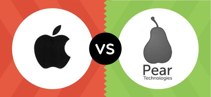 Appels met peren vergelijken - aanhaken bij bekend merk