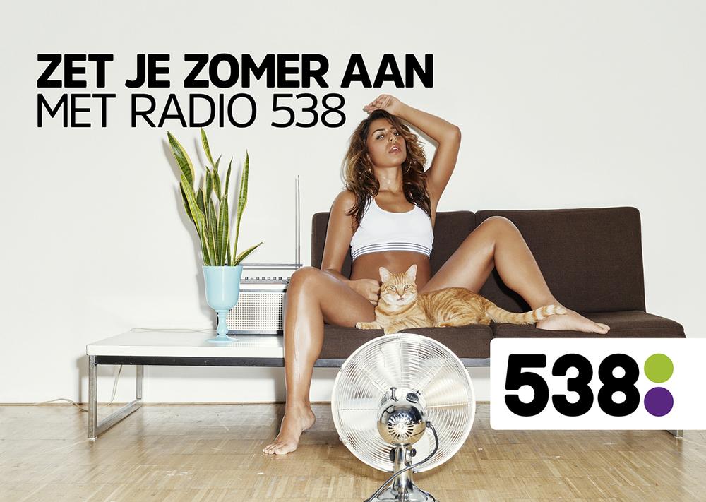 Radio 538- suggestieve reclame in strijd met de goede smaak en het fatsoen (art. 2 NRC)