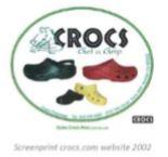 Einde Crocs modelbescherming