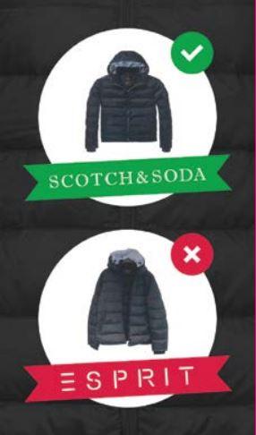 Inbreuk op Scotch & Soda donsjas- auteursrecht of modellenrecht