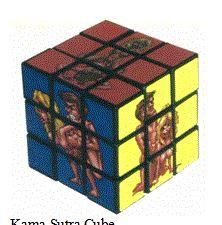 Meeliften op de Rubik Kubus