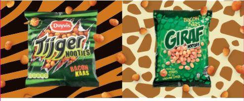 Tijger- en Girafnootjes