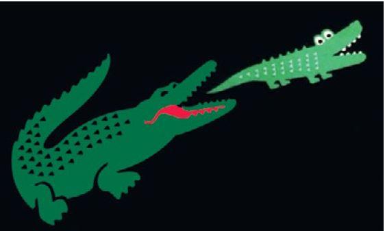 Hema toch inbreuk op Lacoste krokodil