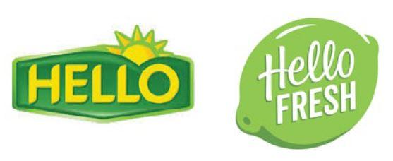 Geen logo HelloFresh