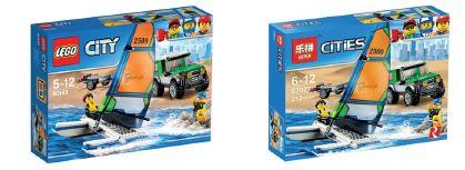 Lego vs Lepin: namaakbestrijding in China