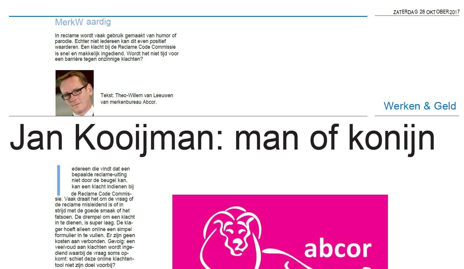 Remia Jan Kooijman (HDC kranten - Plus werken bijlage)