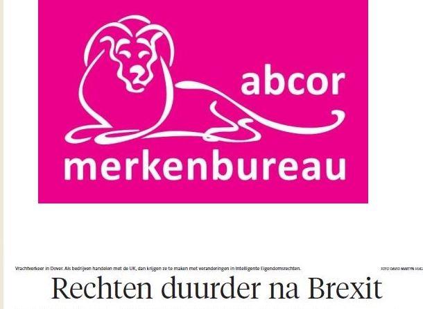 Brexit gevolgen Intellectuele Eigendomsrechten- EU merkrechten - EU designs -Europees octrooi - EU domeinnamen